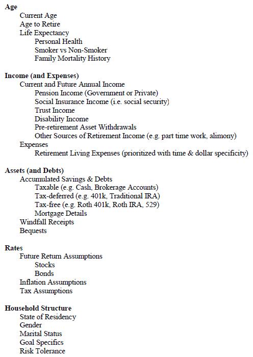 important-retirement-planning-inputs